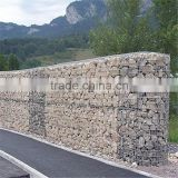 welded galvanized gabionx low price galvanized heavy chicken wire cage rock wall / gabion rock wall with high quality