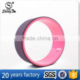 Trending hot products yoga wheel with customized color , abs yoga wheel , exercise fitness yoga wheel