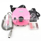 Best quality Nail Art Powerful 25,000RPM electric nail drill / pedicure manicure machine with pedal