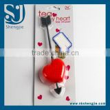 Trade Assurance Korea love plastic teaspoon home heart shape spoon for tea/Love heart shape plastic teaspoon coffee spoon