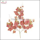 Yiwu cheap factory sale indoor decoration artificial grape branches and leaves