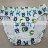 2015 New Design Alphabet Carton Children Underwear