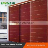 New 2016 kav glossy walnut sliding door wardrobe bulk products from china