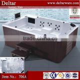 foshan factory 12 person hot tubs, outdoor cheap freestanding bathtub, surfing for 8/10/12 person bathtub