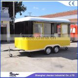JX-FS400R Mobile snack food truck for sale fast food truck for sale in China custom food truck