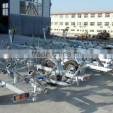 Heavy duty dual or single axel galvanized trailer boat
