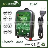 Visson X-pest el90 solar electric fence, electric fence rope, electric fence energiser rope wire 10 km range approved IP54