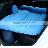 Inflatable car air bed traveling car flocking bed