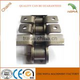 A type Agricultural combine harvester conveyor cranked link transmission chain
