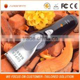 Sale promotion quite noise cordless clipper manual precision stainless steel blade hair trimmer