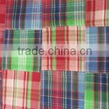 Madras Check Patchwork handmade pure fabrics For Quilt