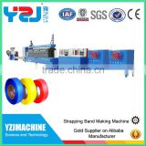 China supplier pet strap belt making machinery