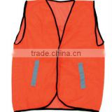 reflective polyester vest with class2 tape ,safety polyester vest with zipper ,safety reflective polyester vest with visibility