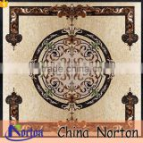 Hotel lobby decoraive water jet marble floor medallion NTMS-MM005A