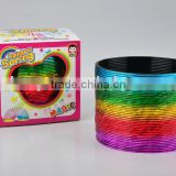wholesale promotional classic rainbow spring toys/hot sale magic rainbow circle