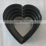 5 PCS of heart-shaped cake mould/cookie cutter/cake mold
