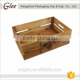 2017 new style wholesale top quality wooden wine crate