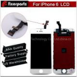 Quality AAA For iPhone 6 LCD Touch Screen Digitizer Assembly Black&White Color LCD Display