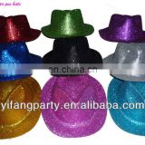 Colorful party glitter cowboy hats/ Mexican cowboy hats