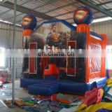 Superman Castle,inflatable Jumpers,Party Jumper