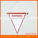 customized national hang flag pennant