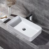 made in china ceramic top new thin wash basin