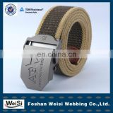 newest fashion custom fancy braided belt for men