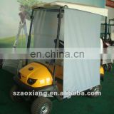 2-seater electric golfcart with trojan battery,curtis contro