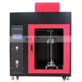 QCC-1Touch Screen Automotive Interior Material Combustion Tester) Automotive Combustion Resistance Tester Flame Test