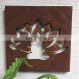 AHL Steel Supplier Lotus Mini Panel Wall Decor