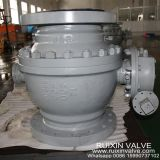 API 607 Trunnion Mounted Ball Valve Fire Safe Flanged End RF