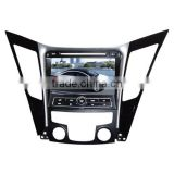 car multimedia gps system for Hyundai Sonata with GPS/Bluetooth/Radio/SWC/Virtual 6CD/3G internet/ATV/iPod/DVR