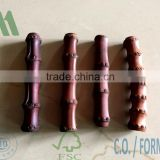 bamboo root cane mahogany colour, bag handle coloured, mahogany rhizomes