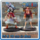 MINI QUTE 15 & 18 cm 2 type selectable anime one piece action figure Monkey D Luffy & Usopp brinquedos boys in box NO.MQ 080
