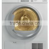 Laundry Appliances Wall mounted electronic control condenser clothes dryer with stainless steel drum