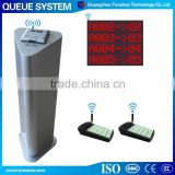 Simple Manual 2 Service Button Wireless Queue Management System