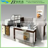 Modern Bestone coffee shop kiosk for sale, custom made furniture factory                                                                         Quality Choice
