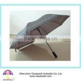 automatic open 2 fold compact umbrella