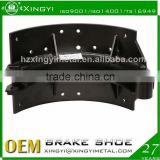 China metal brake shoe truck brake shoe/used heavy duty trucks for sale brake shoe/brake drum