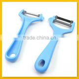 Handy blue plastic handle paring knife