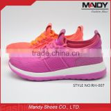 2016 guangzhou hot selling breathable ladies sport shoes                                                                                                         Supplier's Choice