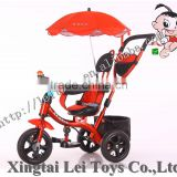 4 in 1 tricycle bike for baby, with 3 EVA and AIR wheels children tricycle for sale with sun shade/umbrella, direct of factory