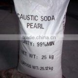 Alkali Caustic Soda Pearls sodium hydroxide 99% Industrial grade sodium hydroxide price