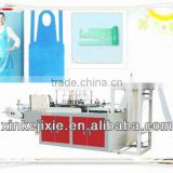 Fully Automatic Cleanroom /Food Service cleaning disposable spunbond apron making machine