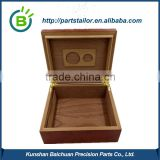 BCS 043 High Quality Wood Gift Box With Custom Logo Printing On The Wood Box With Insert