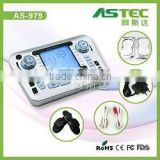 2 channel Acupuncture Therapy electronic pulse massager                                                                         Quality Choice