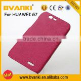 Unlocked Cell Phones For USA Wallet Leather Case For Huawei Ascend G7,Rugged Case For Huawei Ascend G7,Sublimation Crystal Blank