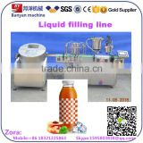 Automatic Soda water Carbonated soft Drinks/ beverage/ juice filling and capping machine