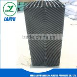 Oblique Wave Cooling Tower PVC Sheet Media, 19mm Pitch PVC Fills Packing for Cooling Tower