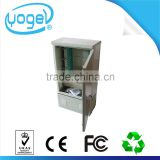 FTTH Outdoor waterproof Cable Cross Connect cabinet SC FC adapter Fiber Optical Terminal Cabinet